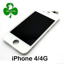 For iPhone 4 LCD Touch Screen Display Digitizer Glass Assembly White