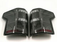 New Pair For 15-17 Ford F150 Smoked Lens LED Tail Light Lamps W/O Blind Spot