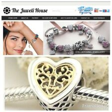 Locked  Love Openwork European  Charm Bead Genuine 925 Sterling Silver wife
