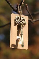 50 Vintage Keys Bottle Opener w Tag Decor Gift Escort Card Bridal Baby Shower