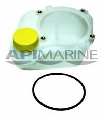 API Volvo Late Style 4-Screw Mount LH Fill Oil Reservoir Trim Tab M533 RES55 EI