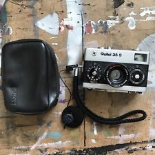 Rollei 35S 35mm Camera with 40mm f/2.8 Zeiss Sonnar lens (has issue)