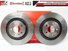 FOR AUDI A4 A5 S4 S5 Q5 08-11 REAR GENUINE BREMBO VENTED BRAKE DISCS DISC 330mm