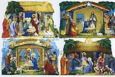 #feuilles CHROMOS# MLP 917 crèche, Sainte-Famille, Jésus, HOLY FAMILLE RARE