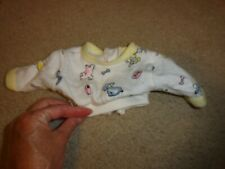 Vintage Cabbage Patch Kids Doll Babies Size Pajama Top w/ Snaps