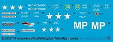 Peddinghaus 3015 1/35 V 100 Comando Decal for the US Military police