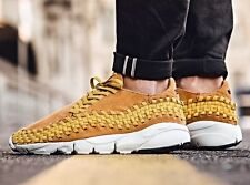 Nike Air Footscape Woven Chukka NM Sz 9 Desert Ohcre Gold Dart Wheat Yellow Gum
