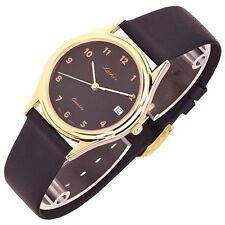 LACHER Armbanduhr, Mod. M1563, Made in Germany, Datum, NEU, NOS, K080