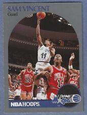 1990-91 Hoops #223 Sam Vincent w/ Michael Jordan #12 Jersey