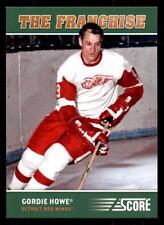 2012-13 Score Franchise Original Six #OS2 Gordie Howe Red Wings (ref 21926)