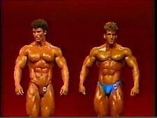 1983 NPC Nationals bodybuilding video muscle dvd  Bob Paris, Matt Mendenhall