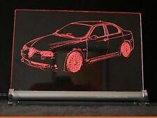 Alfa 156 GTA   LED Leuchtschild Gravur    Alfa Romeo