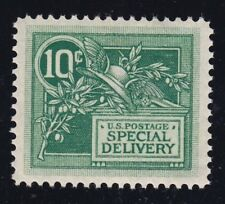 """US E7 10c Mercury Special Delivery PSAG """"95"""" Mint XF OG NH SMQ $625 (001)"""