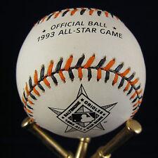 Kruk Daulton Hollins Autographed 1993 All-Star Game Baseball Signed COA RARE!