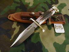 "RANDALL KNIFE KNIVES #15-5 1/2"" CDT,SS,BC,BLH,ALL-BL.S,STAG,BCBB   #A2446"