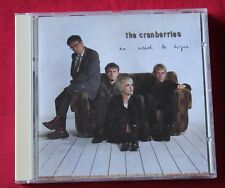 The Cranberries, no need to argue, CD