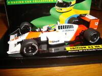 1:43 - Ayrton Senna 1988. Mc Laren MP 4/4 Honda Turbo. Edition 43 Nº 1 nuovo