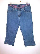 Florida GATORS Women's Capri Jeans Team Jeans sz 6 embroidered alligator slits