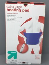 Up & Up Extra Large LED 3 Heat Settings Heating Pad 12 in x 24 in Auto Shutoff