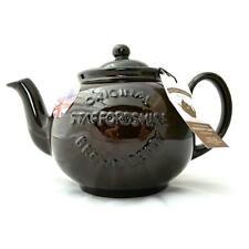 Staffordshire Brown Betty Teapot - 8 cup  U.K. Made - Cauldon Ceramics - Tea Pot