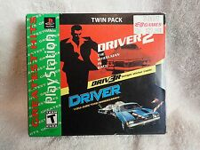 Driver 2/Driver Twin Pack Compilation (Sony PlayStation) Complete, Incl stickers