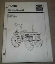 Ford New Holland 1910 2110 Tractor Service Shop Repair Manual Book