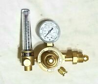 VICTOR HVTS 2537-580 Two Stage Regulator Flowmeter Argon Helium Tig Mig Welding
