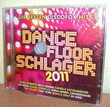 DANCEFLOOR SCHLAGER  Vol.2  PARTY & DISCOFOX Stimmung Pur (2 CD's)  NEU