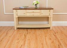 Vinyl Plank Floor Tile Rustic Oak Wood Grain Look & Feel Self Adhesive 15 SF NEW
