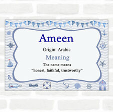 Ameen Name Meaning Nautical Certificate
