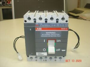 AB-5214 1 ABB S203UP-K10A Circuit Breaker 3 Poles Amperage Rating 10 Issue No