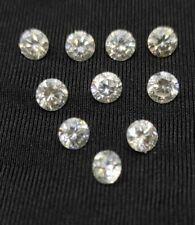 3.00 TCW. 10 @ 30 Point. 4.2mm. White H-I Color. Round MOISSANITE DIAMONDS