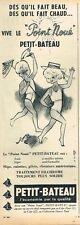 H- Publicité Advertising 1961 Sous vetement pour enfants Petit Bateau