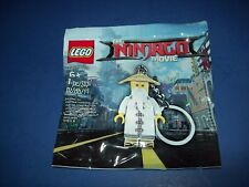 LEGO The Ninjago Movie MASTER WU Keychain minifigure  5004915 promo
