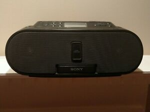 Sony ZS-S2iP CD Boombox Radio with iPod Dock REMOTE INCLUDED- FULLYTESTED