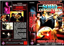 "VHS - FSK 18 - "" Soho CONNECTION ( Tank Malling ) "" (1989) - Jason Connery"