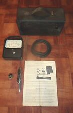 Antique 1936 Alnor Velometer Boyle system w/ case, instructions & accessories