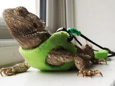 LIME Bearded Dragon Harness Leopard Gecko Rankins Accessories Leash Lead