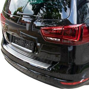 LADEKANTENSCHUTZ EDELSTAHL MATT für SEAT ALHAMBRA II ; VW SHARAN II | ab 2010-