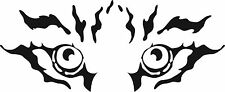 BEAUTIFUL TIGER ANIMAL EYES STARING ,ANIMALS,CAR DECAL STICKER