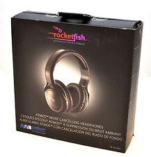 Rocketfish RF-NCHP01 Atmos Headphones Noise Cancelling Over-Ear Wolfson myZone A