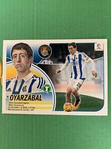 Mikel Oyarzabal Rookie Real Sociedad 2016 2017 La Liga Panini Sticker