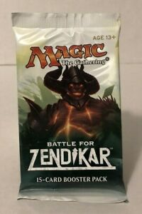 Magic the Gathering - Battle for Zendikar Booster Pack - 15 Cards - NEW - MTG