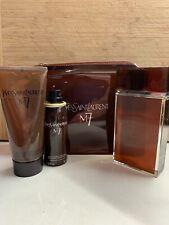 M7 By YSL - EDT 100ml Spray, Now w promo bag, 100ml Shower Gel & 50ml Deodorant