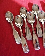 Teaspoons / Flatware ~ 6 Piece Set ~ Shell Pattern ~ Heavy Wt. Stainless  New