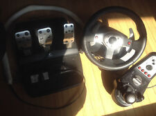 Logitech G25 Racing Wheel - Steering Wheel, Shift and Foot Pedals for PC