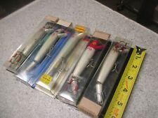 Lot of 5 vintage 1980's Rebel fishing lures g series etc