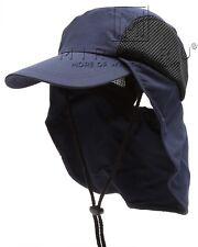MIRMARU Men and Women's Summer Outdoor Sun Protection Safari Bucket Hat Cap