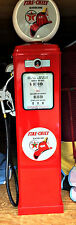NEW TEXACO FIRE CHIEF REPRODUCTION GAS PUMP - RED ON ALL 4 SIDES - FREE SHIP*