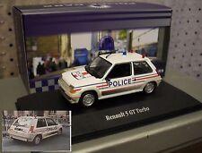 RENAULT  5   GT  TURBO Phase 1   POLICE   1985  RARE  MODEL IXO   1/43